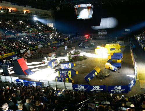 XTRIAL 2015 SHEFFIELD ARENA INSIDE