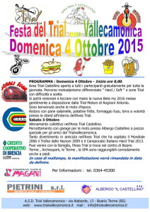 FESTA DEL TRIAL 2015