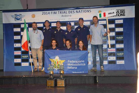 Squadra Italia TDN 2014